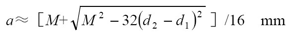 同步带计算公式