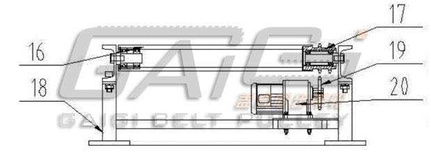 轴承支座结构图