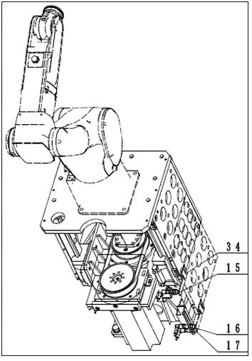 机器人升降装置